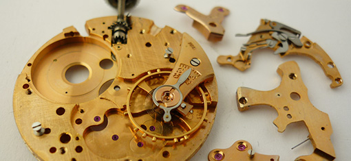 Breitling watch restoration - Part11